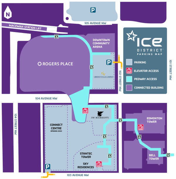 ICE District Parking Map - 2021