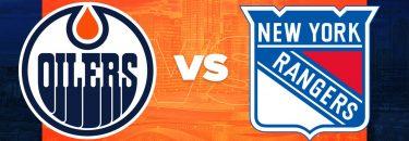 Oilers vs. Rangers